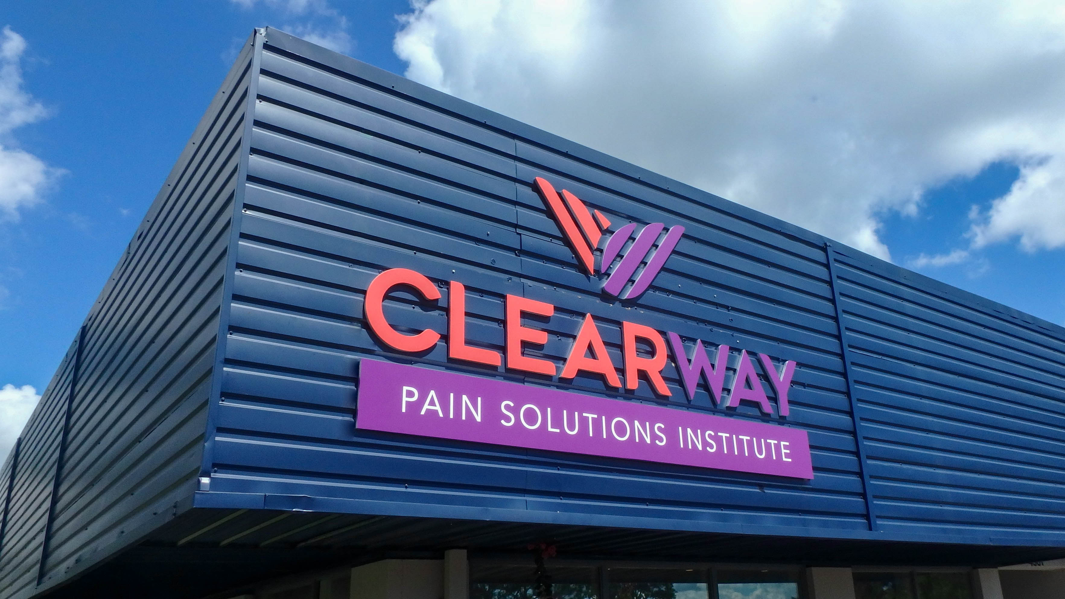 Exterior Dimensional Letters and Logo