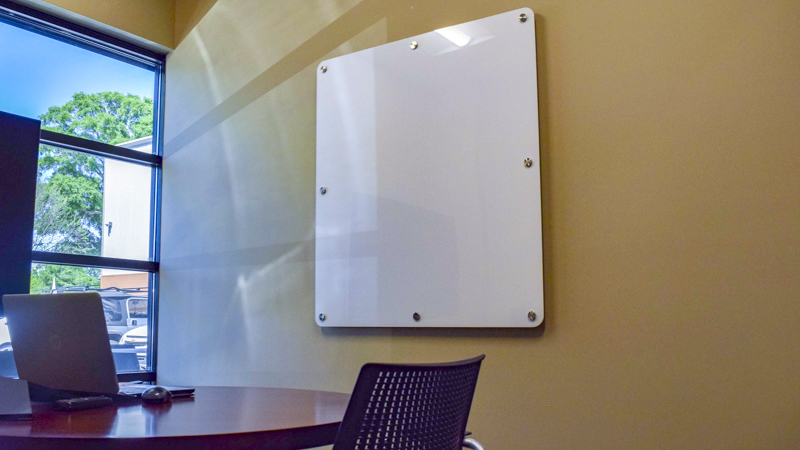 Signgeek Acrylic Posters - Acrylic dry erase panels at Engineered Cooling Services