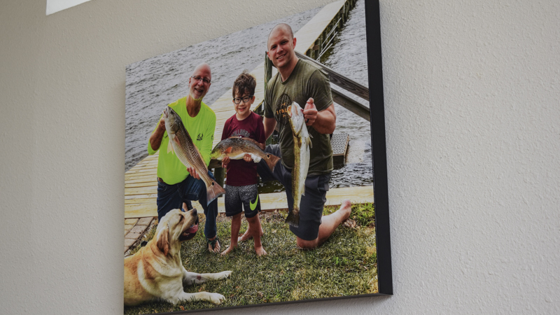 SignGeek Branded Art Canvases - Custom printed family photo canvas