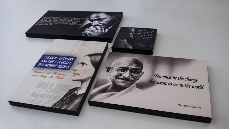 SignGeek Branded Art Canvases - Custom crafted quote canvases for the Dept. of Health