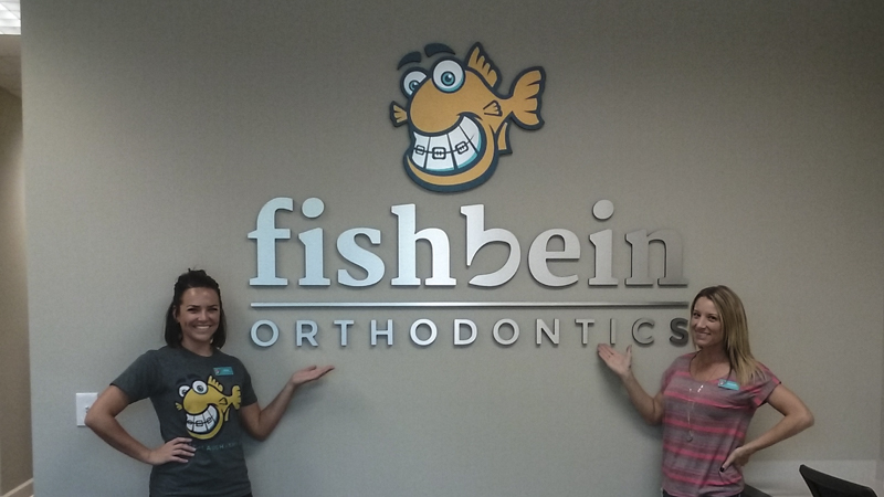 SignGeek Corporate Identity Signage - Interior dimensional signage for Fishbein