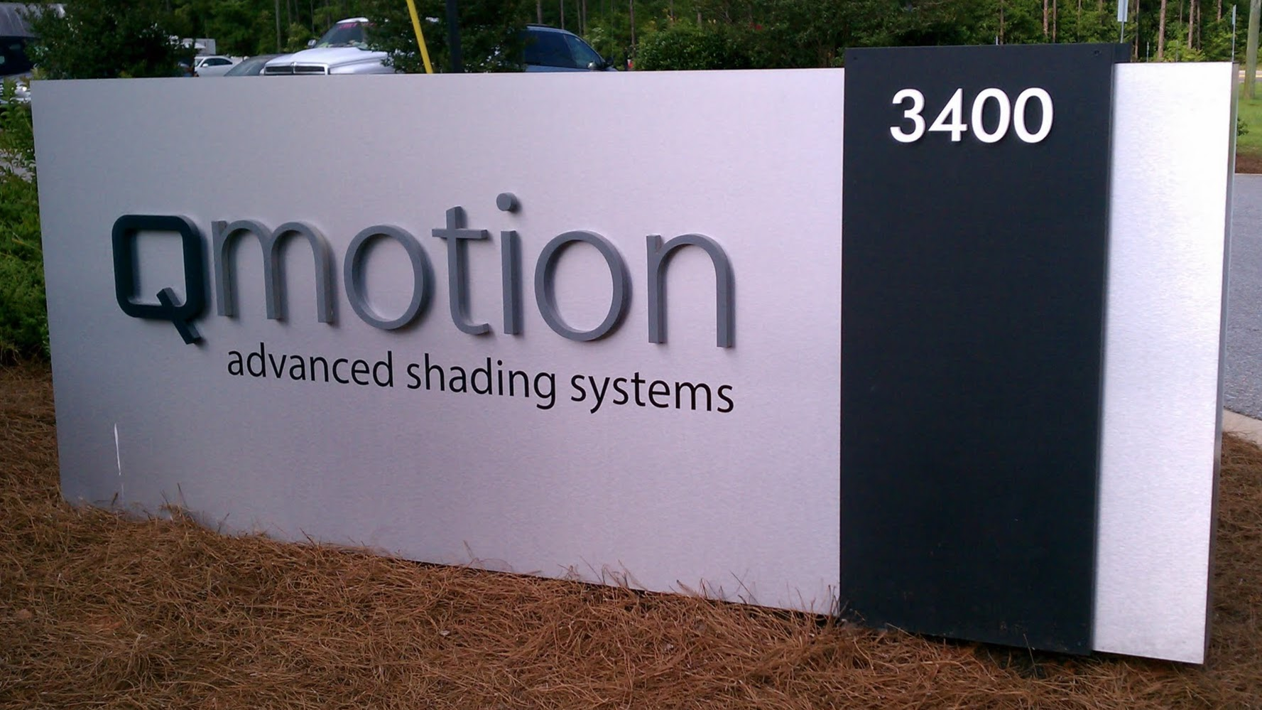 Dimensional Sign Letters | Brushed Aluminum 3D Lettering