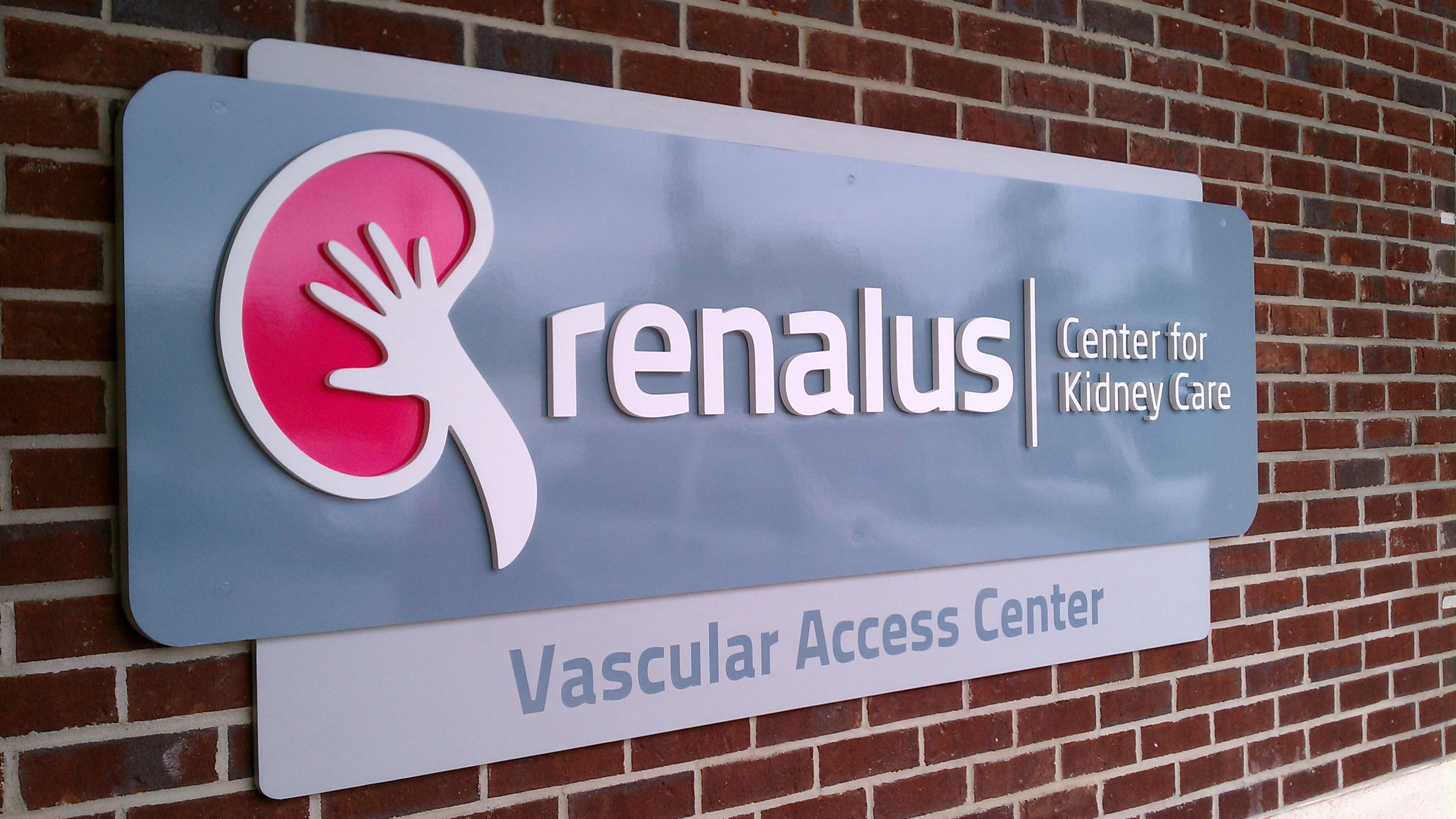 Exterior Dimensional Sign Letters for Healthcare Branding